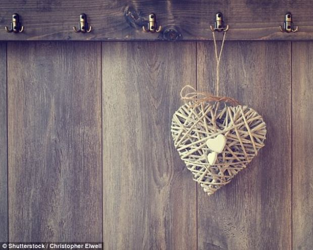 Wicker hearts: It seemed very few posters were fond of the trend for folksy home accessories