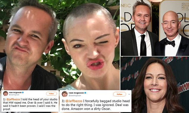 Rose McGowan takes down Amazon exec with help from accuser