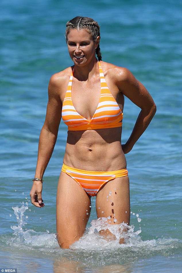 Candice Warner Shows Off Her Incredible Figure In A Bikini