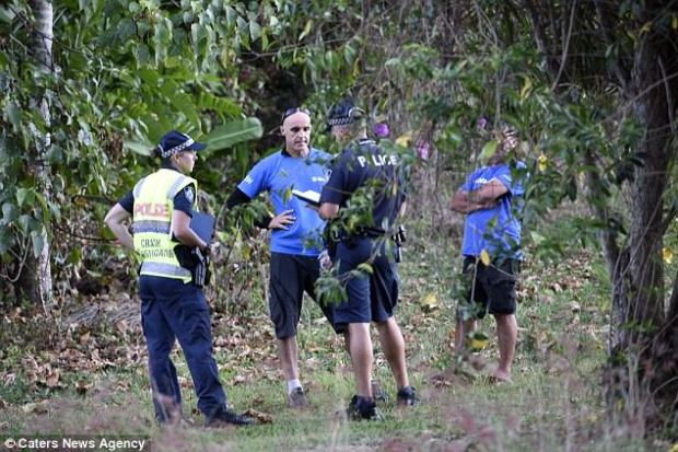 Skydive Australia, with representatives seen talking to police, confirmed that two highly experienced instructors and a customer were killed