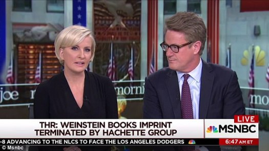 Spill: Mika Brzezinski made the revelation on Friday morning during her MSNBC show Morning Joe. She said she had spoken with Streep's publicist who confirmed the actress was 'off grid'