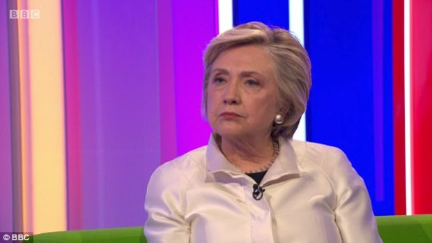 The former secretary of state said that sexual harassment of women was endemic in society as she appeared on the BBC show to promote her new book