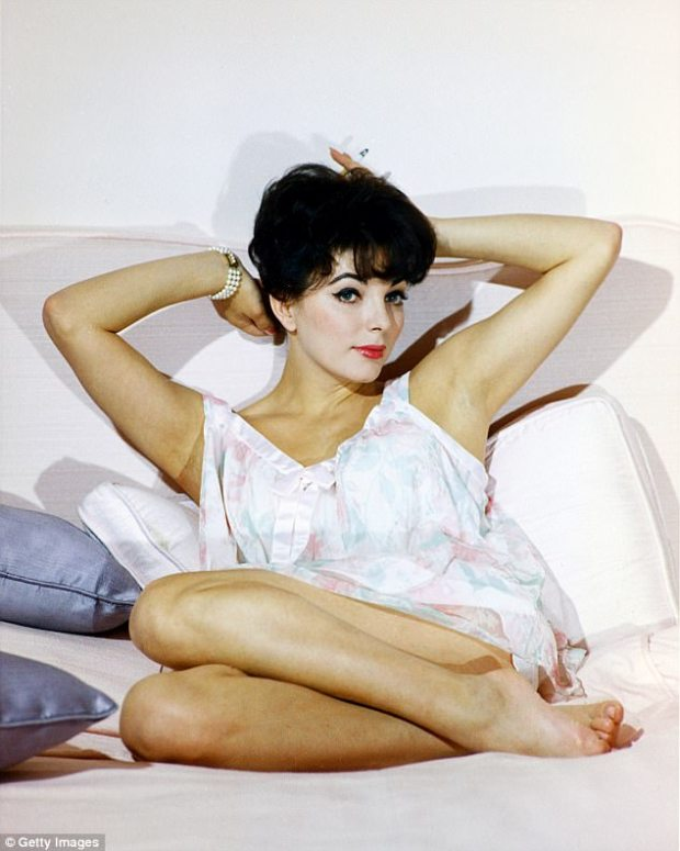 Propositioned: When Joan Collins (pictured) was 21, Marilyn Monroe poured out a cautionary tale of sexual harassment she and other actresses endured from ¿the wolves in this town¿