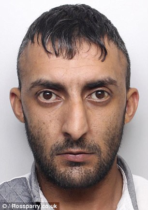 Kaiz Mahmood (left) waa jailed for eight years after causing death by dangerous driving