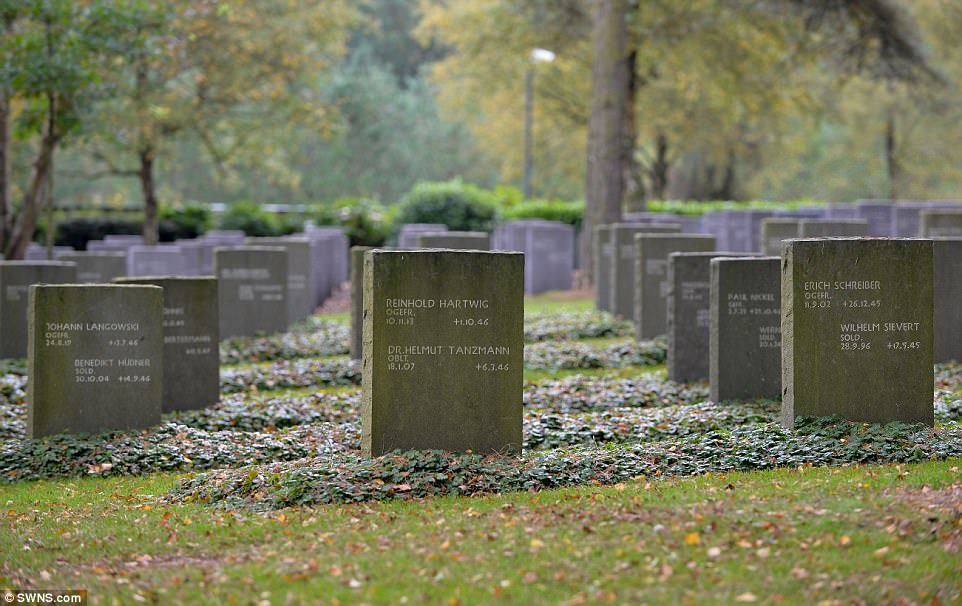 Tanzmann was first buried at an unknown location before finally being interred at the Cannock Chase German Military Cemetery in the 1950s under his own name