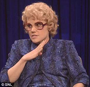 Kate McKinnon played a fictional Hollywood star called Debette Goldry on Saturday Night Live. In a skit, Goldry recalled the sexual harassment she faced from Weinstein