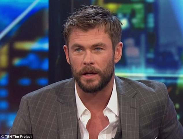 Chris Hemsworth Says His Kids Arent Excited He Plays Thor