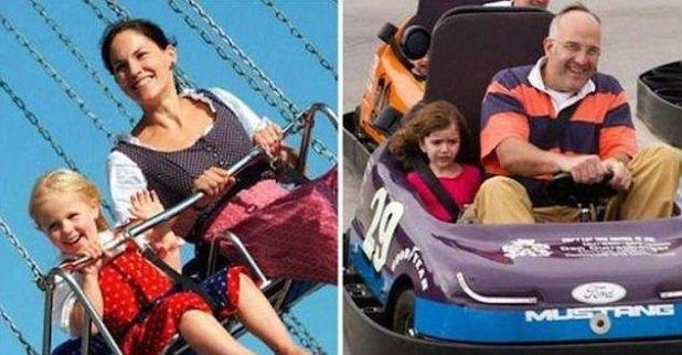 La gente ha compartido divertidas fotos del contraste entre los estilos de crianza de la madre y el padre y te harán enloquecer
