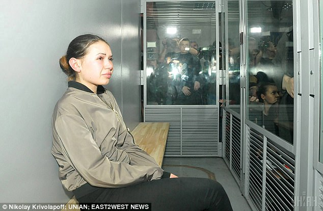 The lawyers of an uber-rich oligarch, whose daughter killed five pedestrians while speeding, are working on a £1.1million compensation package, which could see her avoid jail. Alyona Zaitseva (pictured), 20, caused a deadly pile-up after jumping a red light at more than 60mph