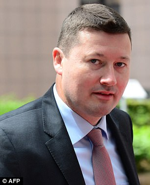 Martin Selmayr - source: Daily Mail