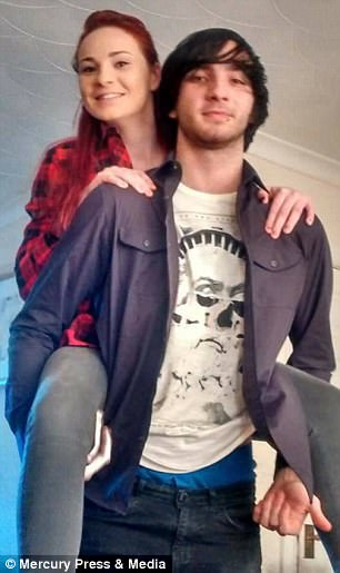 Jack Barnes (pictured with his sister Lucy) is now severely brain damaged after trying to take his own life
