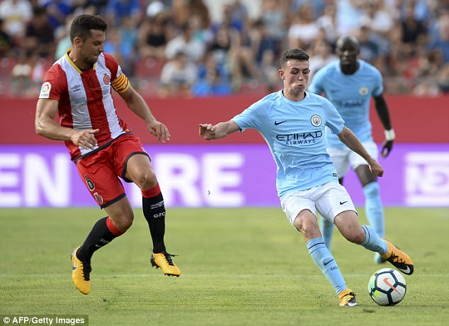 Pep Guardiola described Foden as 'a gift' and has been impressed with his attitude