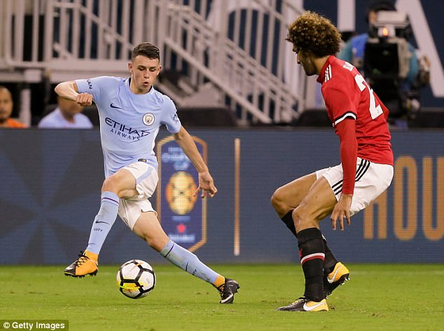 Manchester City youngster Phil Foden appears to be on a fast track to footballing stardom