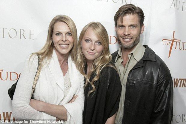 India Oxenberg (center, with mom Catherine and step-dad Casper Van Dien), 26, is reportedly being kept by 'cult' Nxivm. Her biological father, William Weitz Shaffer, 71, spoke up Saturday