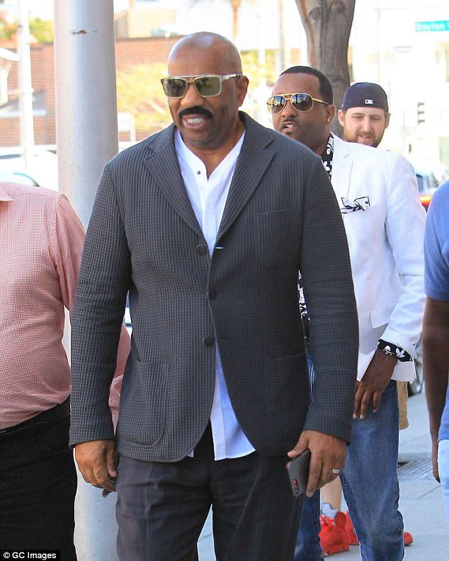 Steve Harvey is turning on President Trump as a result of his dismal ratings for his new TV show, DailyMail.com has exclusively learned. The poor ratings are continued fallout from Harvey's fans from when the comedian took a meeting with Trump in January, a source said