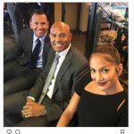 J'lo Shares Fun Night With Her Baby,A-Rod At World Series
