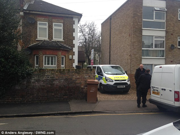 Mr Hanley, 51, turned a revolver on himself when negotiations with armed officers broke down near his home in Wallington, south London (pictured)