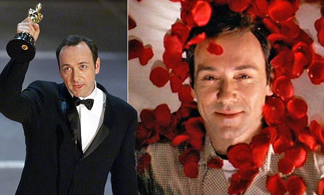 Was Kevin Spacey talking about himself in Oscar speech?