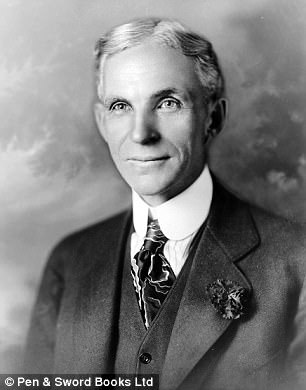 Henry Ford, fundador da Ford Motor Company, era raivosamente anti-semita