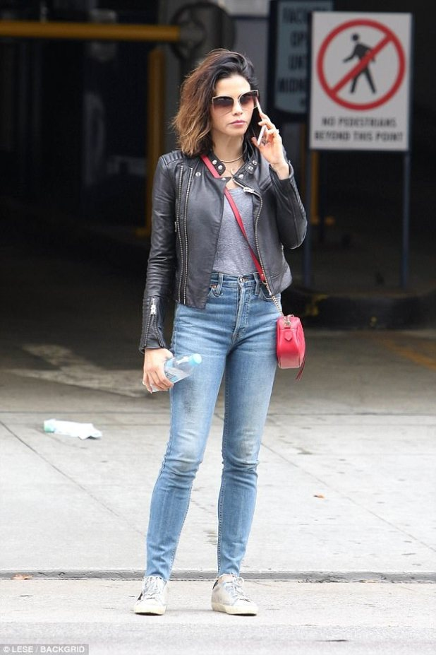 Stunner:Jenna Dewan, 36, was spotted on a casual outing in Beverly Hills on Tuesday
