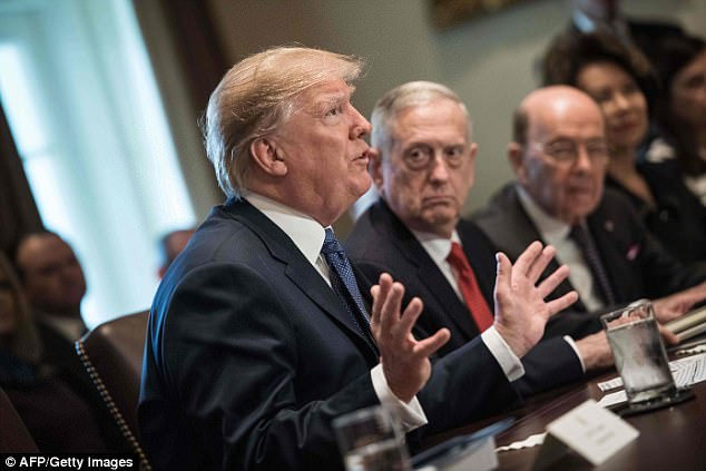 Trump suggested on Wednesday that Americans were 'suckers' for supporting a system that allowed lax oversight of people allowed to fast-track their visa applications on the basis of a randomly drawn number