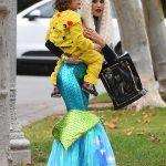 Gwen Stefani As A Mermaid For Halloween