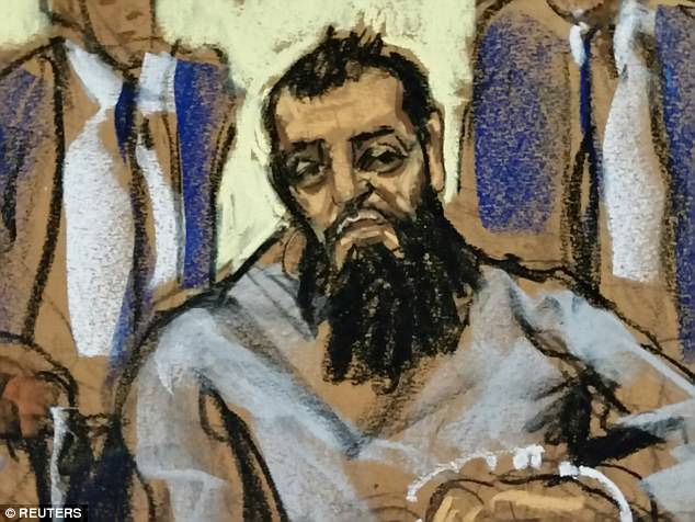His lawyers said Wednesday they were not seeking bail and a judge ordered him to be held in federal jail. Saipov did not enter a plea to terrorism charges and a judge set his next court date for November 15
