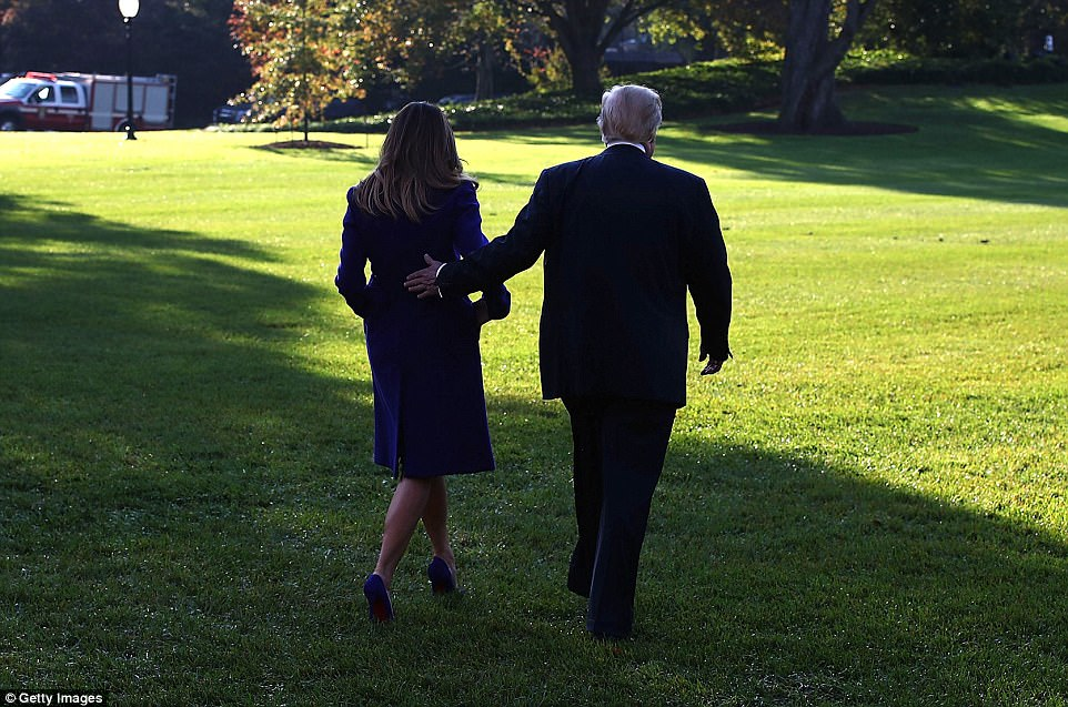 Trump left the capital on Friday as the nation was focused on an intensifying federal investigation into Russian meddling in last year¿s election, New York¿s recovery from an attack earlier this week that killed eight people, and debate over a Republican tax-cut plan that if approved by Congress would be Trump¿s first major legislative victory