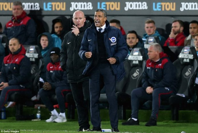 Image result for Swansea Get Ready For Premier League 'Six-Pointer' Against Relegation Rivals Brighton
