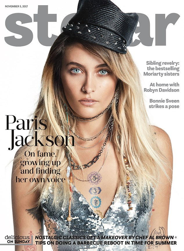 Cover girl! Paris Jackson scored the cover of Australia's Stellar magazine after covering Rolling Stone and Australian Vogue