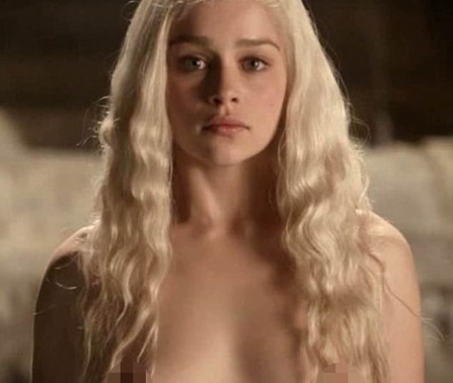 British Actress Emilia Clarke Spent A Great Deal Of Time In Got Naked