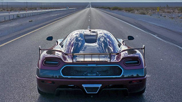 Koenigsegg has claimed the title of fastest production car in the world after this Agera RS averaged a top speed of 277.9mph over two runs down a public highway in Nevada