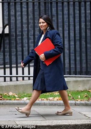 International Development secretary Priti Patel met Israeli officials during a 'private' holiday