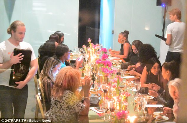 Serena Williams, sister Venus, mother & friends party at her pre-wedding girls