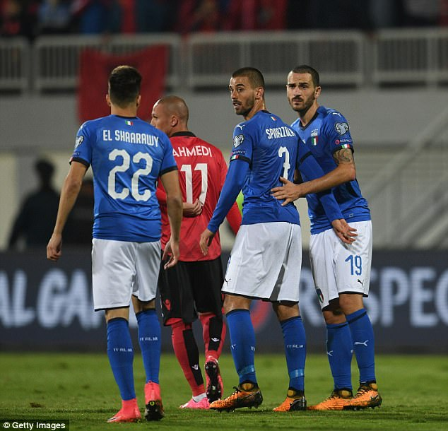 Italy will be desperate to gain an advantage in first leg of their World Cup play-off with Sweden