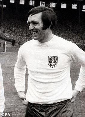 Former England and West Bromwich Albion striker Jeff Astle died in 2002