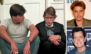 Image result for SHOCK REPORT: Charlie Sheen Raped 13-Year-Old Corey Haim During the Making of Their Movie 'Lucas'