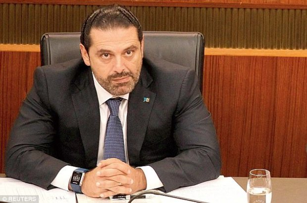 Hitting back: Former Prime Minister Saad Hariri said that he is free to leave Saudi Arabia whenever he likes, and is set to return to Lebanon 'in two or three days'