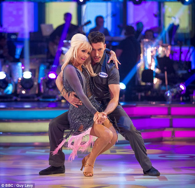 Perfection: Over the weekend, Debbie and Giovanni landed the season's first perfect score