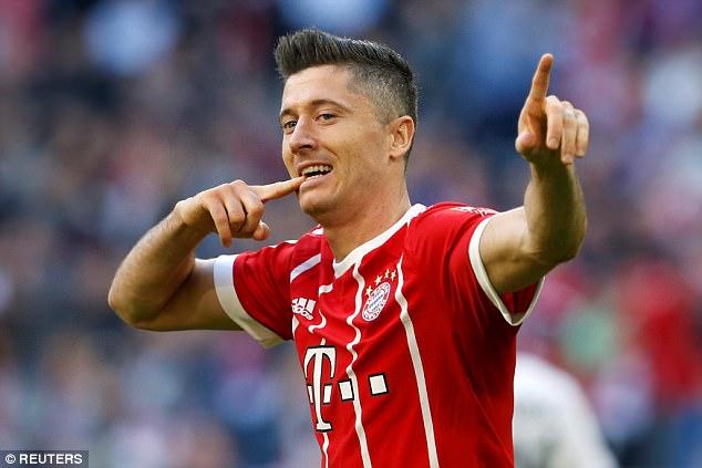 Robert Lewandowski is Bayern Munich's best paid player as they push for European success