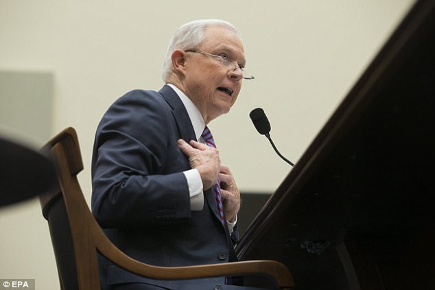 'You're accusing me of lying about that? I say that's not fair,' said Sessions