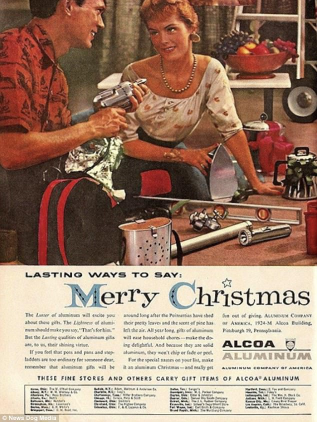 Christmas Ads From Yesteryear Show A Very Sexist Santa