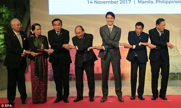The Canadian prime minister was the first leader of the 20 attending this week's ASEAN summit and related meetings who has publicly said he brought up the touchy issue with the volatile Filipino leader