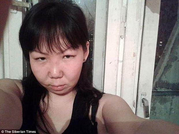 Shock:Zhasmina's motherMarya Leontyeva, 32, found out about the plane crash from her son