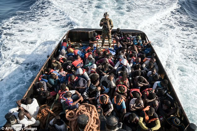 After EU efforts to block migrants from crossing the Mediterranean from Libya, thousands are left stranded the hands of the human traffickers, some of whom are selling them as slaves
