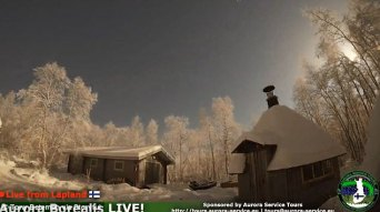 Footage captures the moment the night sky was lit up in a stunning blaze over Finland caused by a fireball from a falling meteor