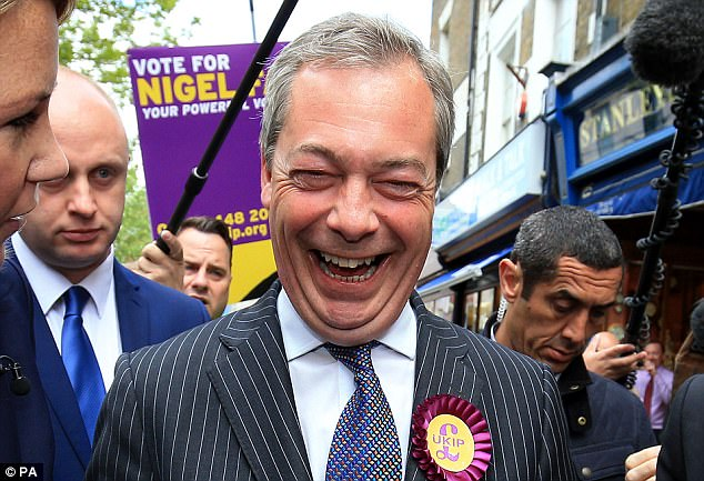 Farage's former mistress Annabelle Fuller sensationally revealed last week they were together for 10 years