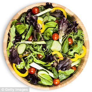 Salad daze: Without countrywide access to the right veggies, malnutrition would occur in certain areas. However, the report does note that eating vegetables is important for health
