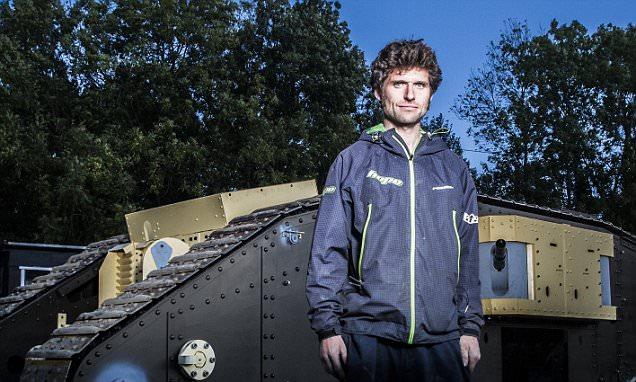Guy Martin Builds Exact Replica Of First World War Tank