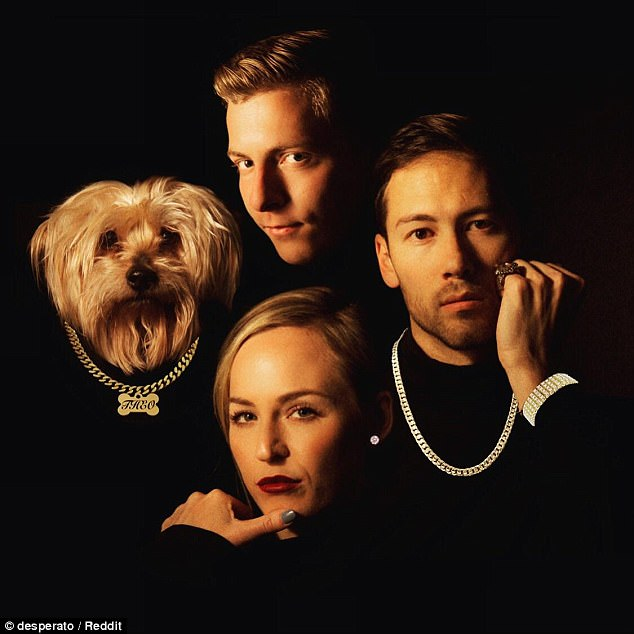 Trio Recreates Death Row Records Image For Christmas Card
